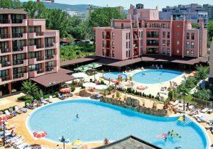 Geweldig hotel in Sunny Beach met groot zwembad