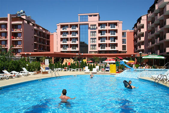 Hotel Sunny Beach met jongeren