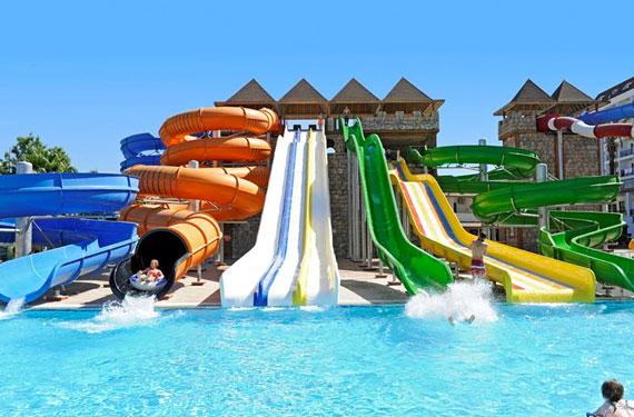 Hotel in Turkije met aquapark met tieners