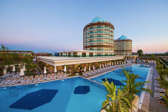 Hotel met zwemparadijs in Turkije met tieners