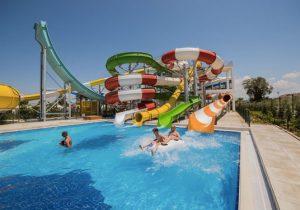 Mooi hotel met zwemparadijs in Turkije