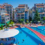 Appartementen aan het strand van Sunny Beach