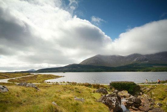 Prachtig landschap van Ierland