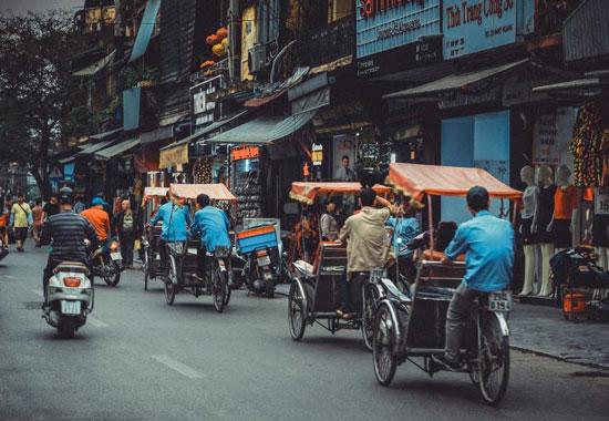 Cultuur snuiven in het levendige Hanoi