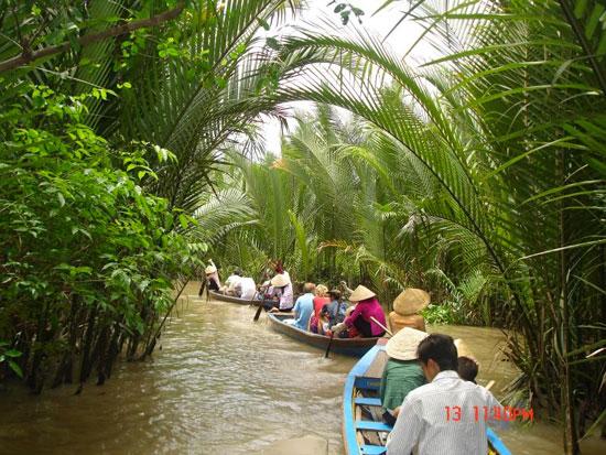 De meikong Delta is een absolute must do tijdens je verblijf in Vietnam
