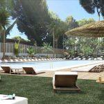 Zonnig hotel aan de kust en het centrum van Mallorca