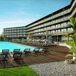Leuk hotel aan het zandstrand van Sunny Beach