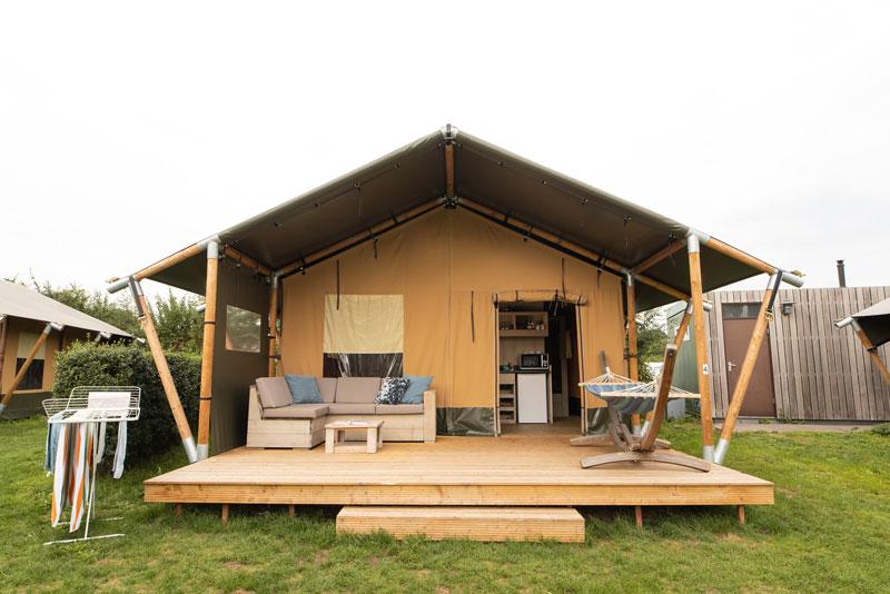 Kleinschalige vijfsterren camping in Overijssel