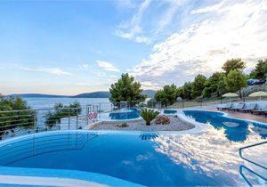 Mooie appartementen aan het strand in Kroatië