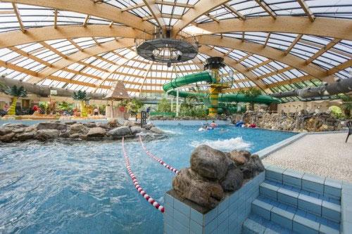Aquapark in Nederland met tieners