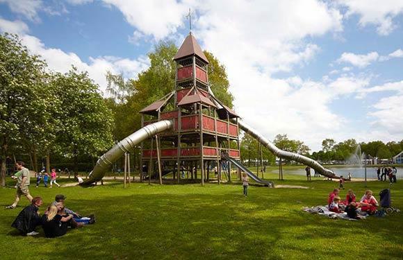 Vakantiepark in Limburg met tieners