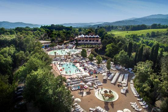 Leuke camping in Toscane met tieners