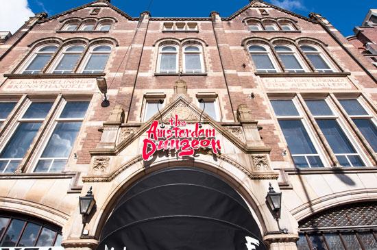 Ontdek de Amsterdam Dungeon met tieners