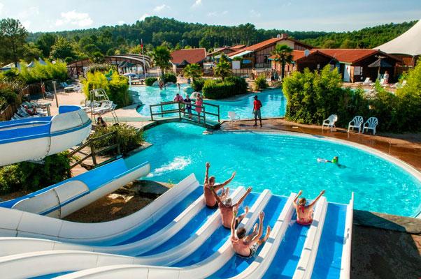 Camping in Frankrijk met zwemparadijs