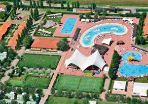Gave camping aan Adriatische Kust met groot aquapark