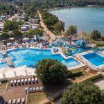 Levendige camping met groot zwembad in Kroatië