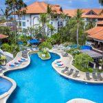 Luxe hotel op Bali met groot zwembad