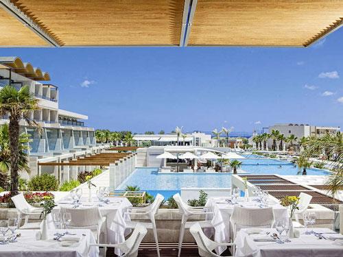 Luxe resort in Kreta met tieners
