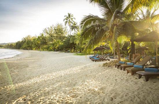 Luxe resort Thailand met tieners