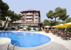 Mooi all-inclusive hotel in het centrum van Mallorca