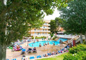 All-inclusive hotel in het uitgaanscentrum van El Arenal