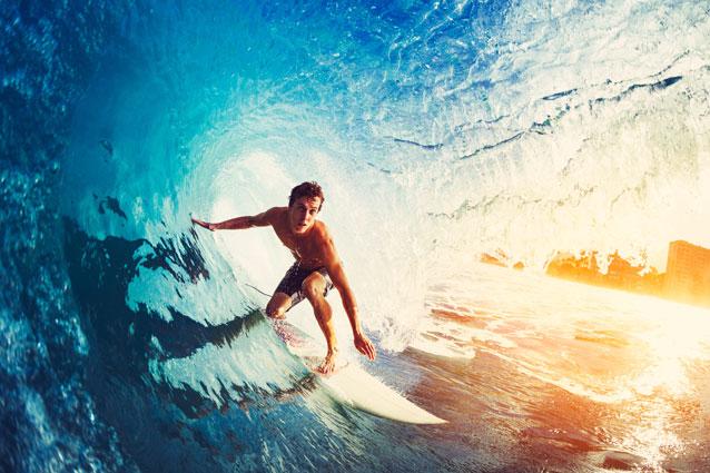 Surfkamp Mimizan met vrienden