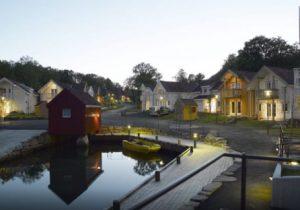 Avontuurlijke vakantie aan mooi fjord in het indrukwekkende Noorwegen