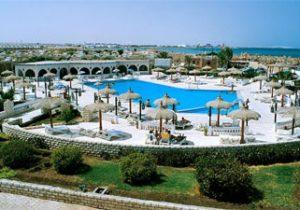 Bruisend vakantieresort in Egypte