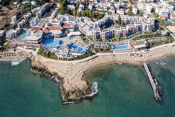 Populair resort Kreta voor tieners