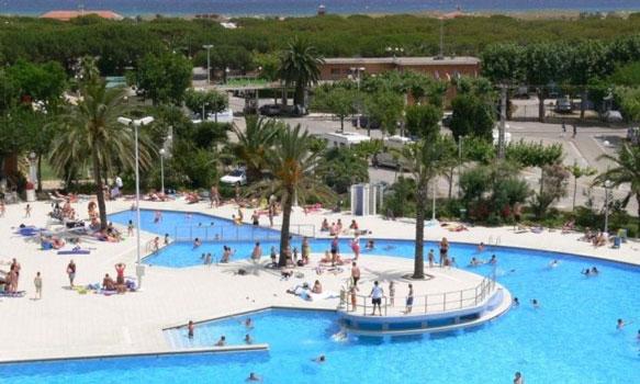 Populaire camping Spanje met tieners