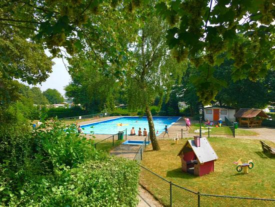 Recreatiepark Gelderland met tieners