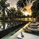 Heerlijk resort op Bali met tropische tuin