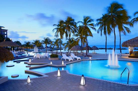Resort Curaçao met tieners