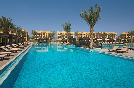 Resort Ras Al Khaimah met tieners