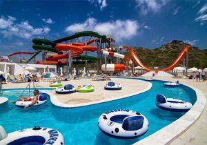 Leuke vakantie in Rhodos met glijbanen zwemresort