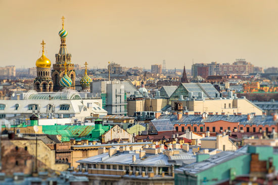 Sint Petersburg ontdekken