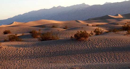 Death Valley ontdekken tijdens rondreis
