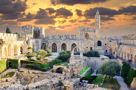 Rondreis Israël met tieners