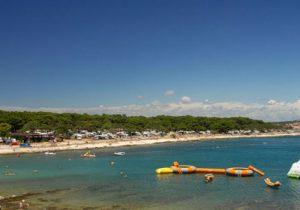Aan waterplezier geen gebrek op deze mooie camping in Kroatië