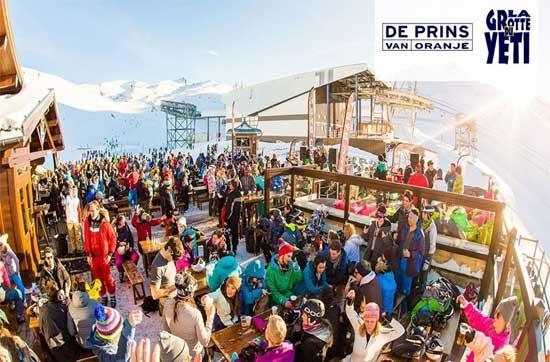 Wintersport Les Deux Alpes met vrienden