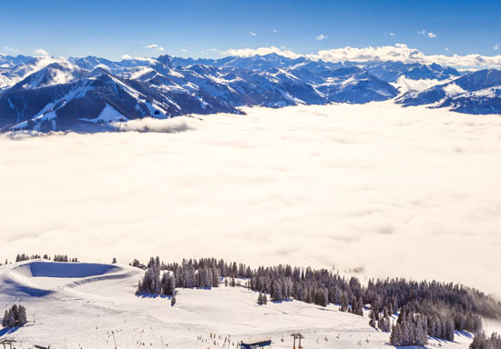 Ellmau, Going, Scheffau, Söll, Brixen im tale, Westendorf, Hofgarten, Kelchsau en Ltter behoren allemaal tot Skiwelt Wilder Kaiser Brixental