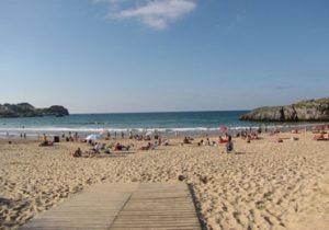 Camping aan een van de mooiste stranden van Spanje