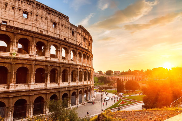 Aanbieding stedentrip Rome met tieners