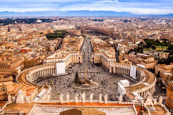 Stedentrip Rome met tieners