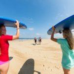 Gezellig surfkamp in Frankrijk