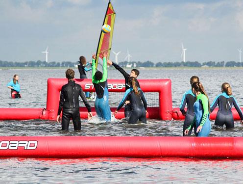 Kitesurfkamp Nederland met jeugd