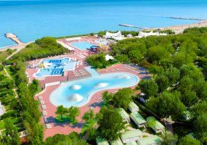 Top camping in Italië aan het strand met zwemparadijs