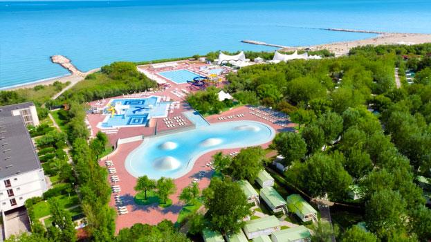 Vakantie in Italië met zwemparadijs met tieners