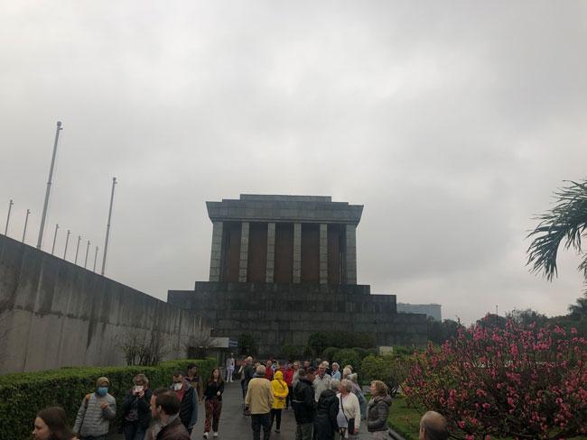 Mausoleum uitstapje Vietnam