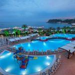 Heerlijk luxe all-inclusive resort in Alanya aan het strand
